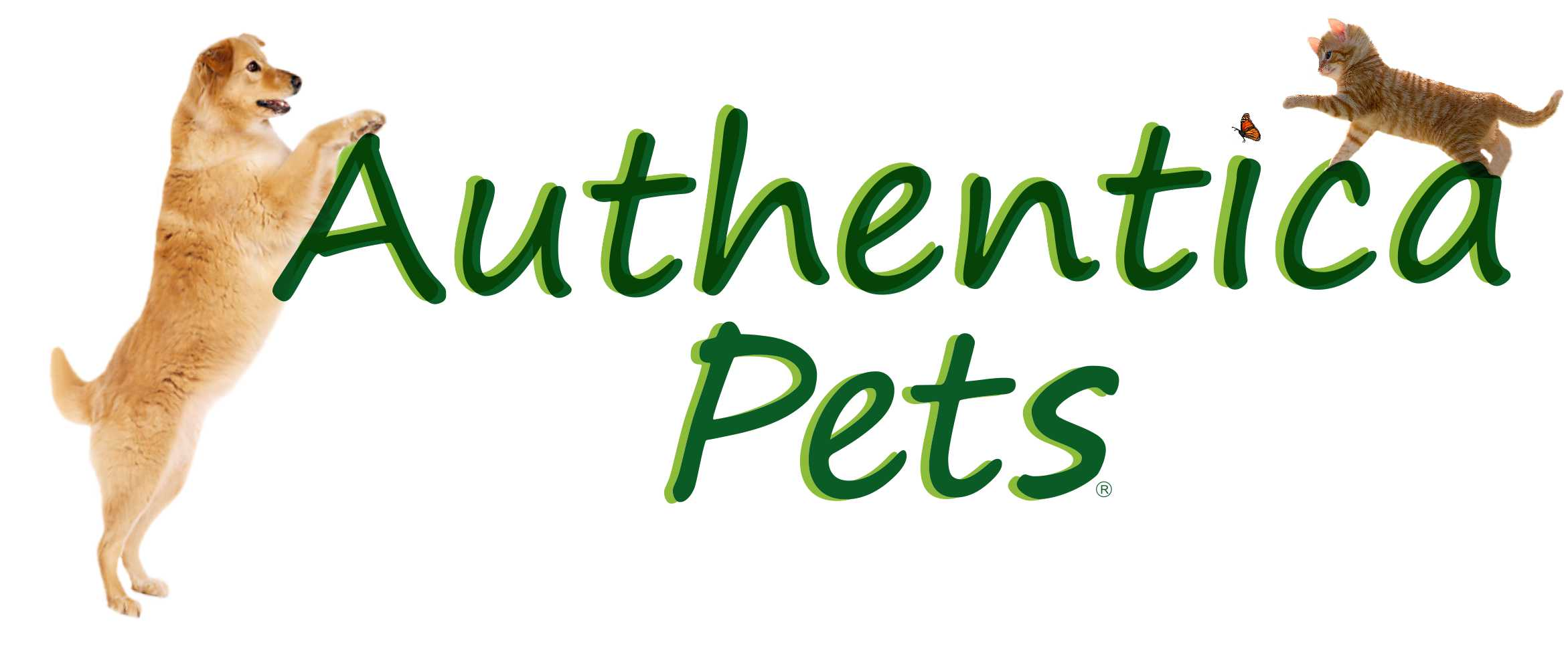Logo AUTHENTICA pets con animales